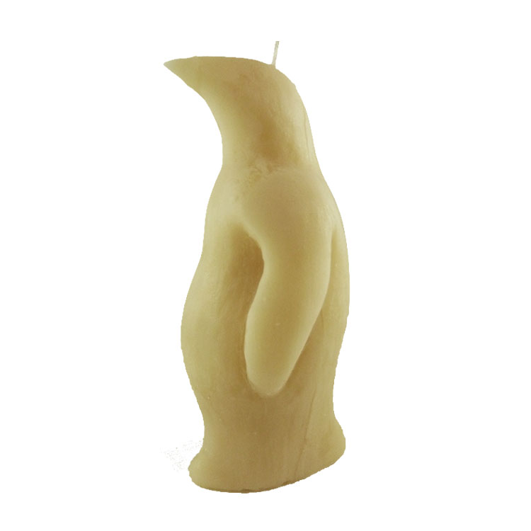 Penguin - pure beeswax candle