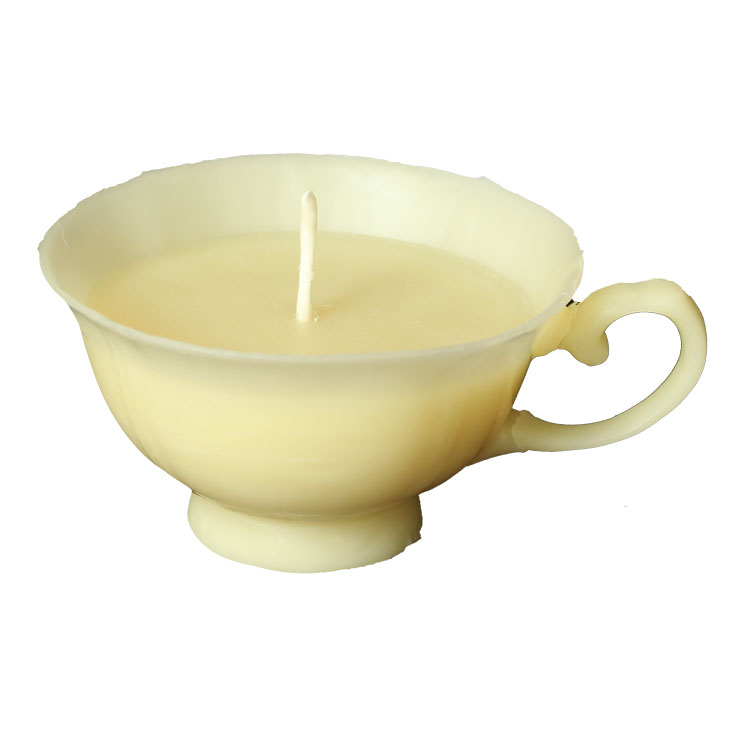 TeaTime - hand made pure beeswax candle