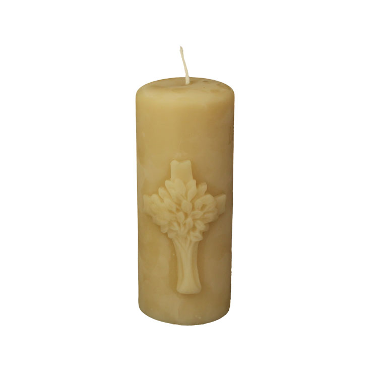 Tree of Life - Elm of Light - pure beeswax cadle