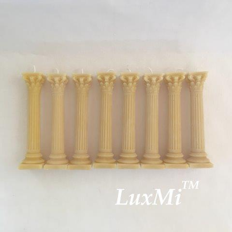 Corinthian Columns - set of 8 - save 10%