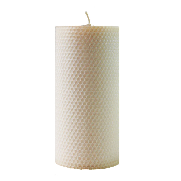 Epiphany - 15cm x 8cmØ - hand rolled beeswax candle