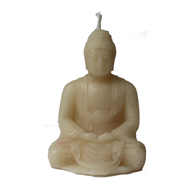 Sitting Buddha - pure beeswax candle