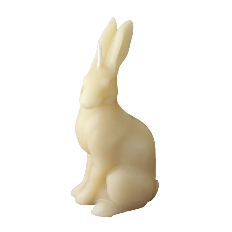 Proud Hare - pure beeswax candle