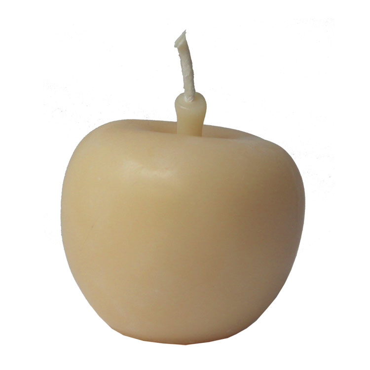 Golden Apple - pure beeswax candle