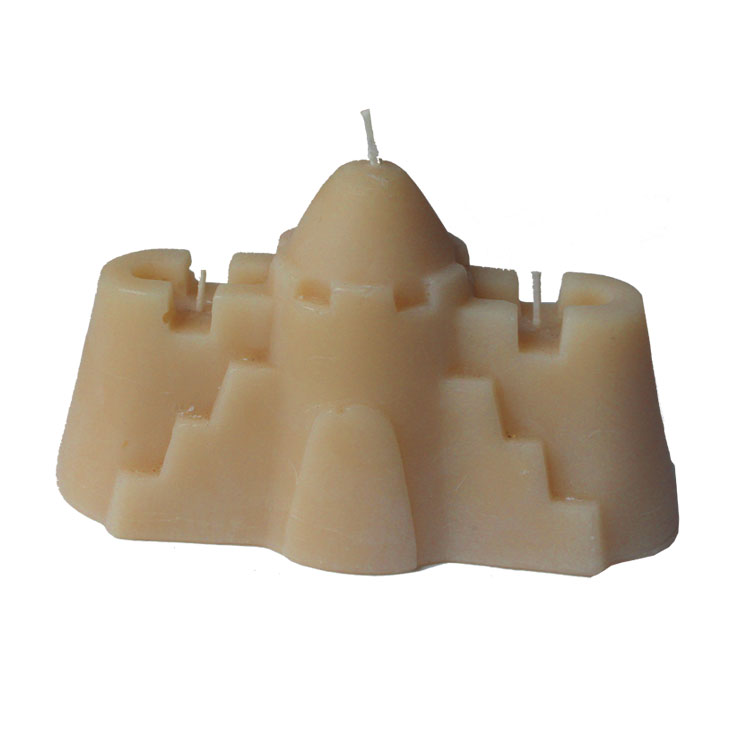 El Dorado - three wick beeswax candle - Click Image to Close