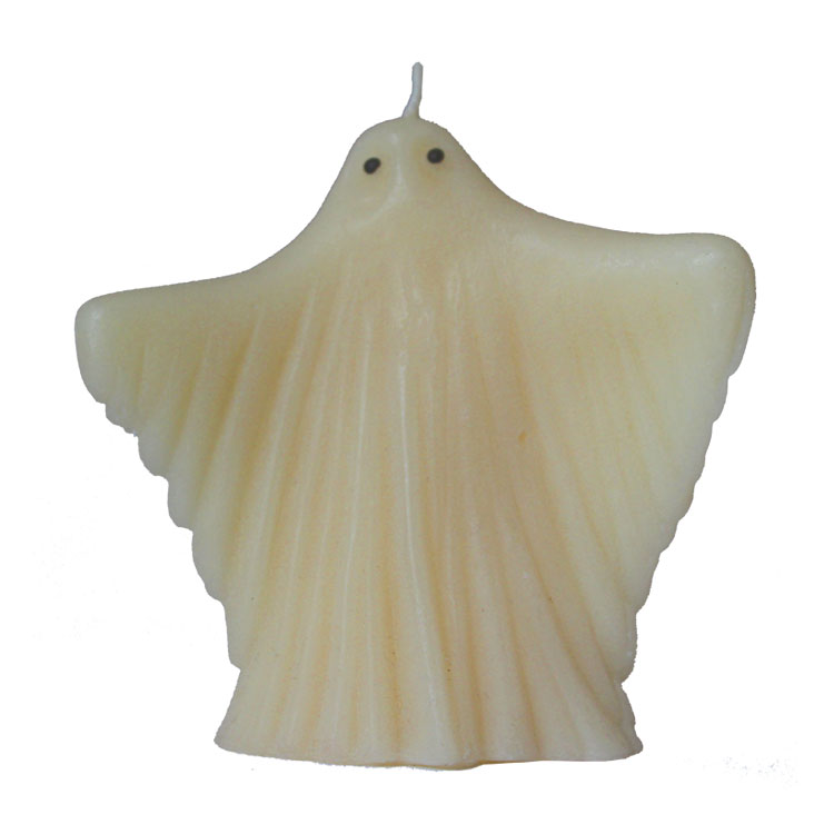 Scary Ghost - pure beeswax candle