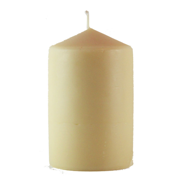 Penelope - solid beeswax pillar - 15cm x 9,5cm - Click Image to Close