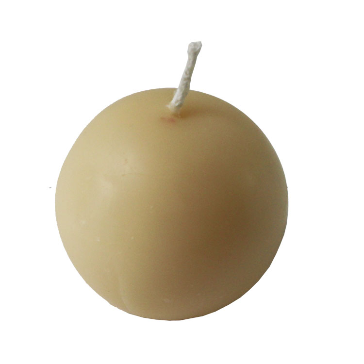 Medium Ball - pure beeswax candle