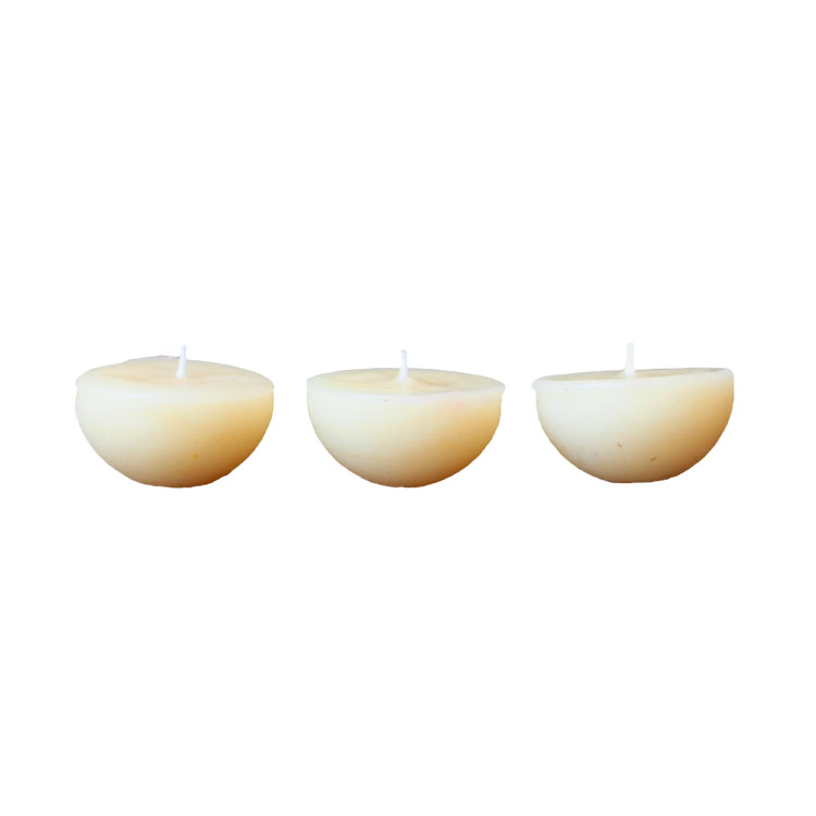 1 Dozen Floating Lights - pure beeswax candles -5%