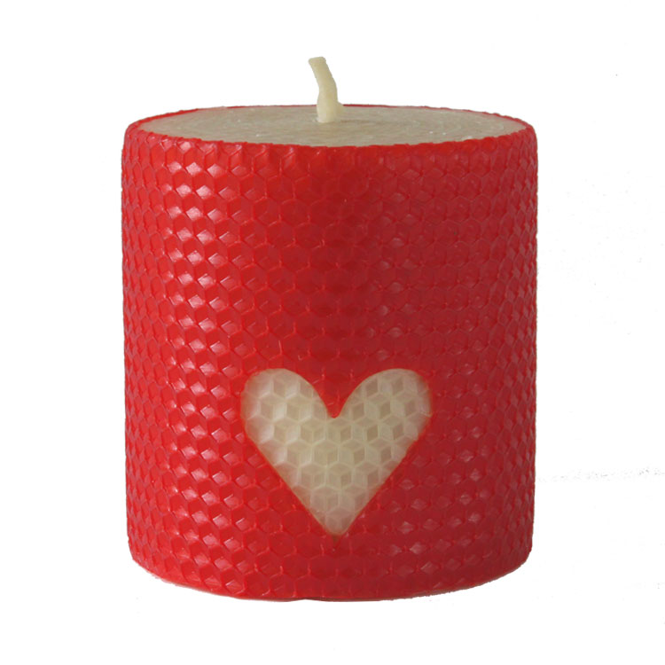 Samson - hand rolled pure beeswax candle