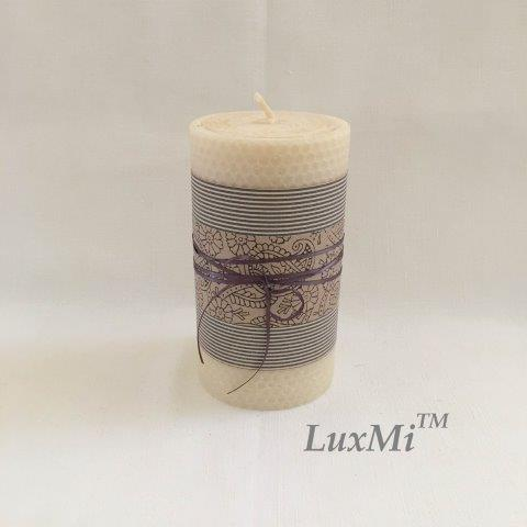 The Mill House - 15cm x 8cmØ - hand rolled beeswax