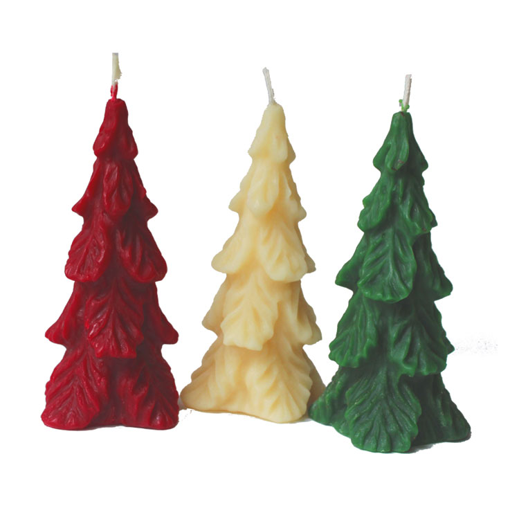 Fir Tree - pure beeswax candle